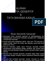 Aliran Semantik Generatif Dan Case Grammar [Compatibility Mode]