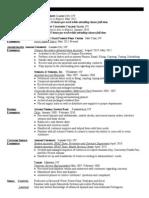 May 2012 Resume