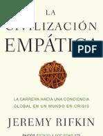 La civilización empática- Jeremy Rifkin 2010