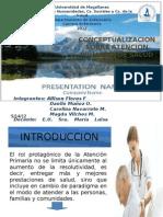 Conceptualizacion Sobre Atencion Primaria de Salud (Aps