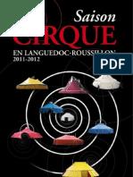 Cirque en Languedoc-Roussillon 2011-2012