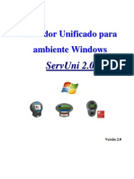 Manual Software ServUni Windows - TC Gertec