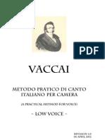 Vaccai Method Low Voice r1.0