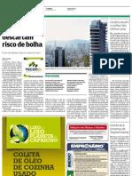 Não existe bolha no mercado imobiliário de Santos