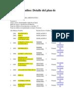 Plan de Estudios AERO