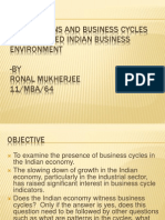 Fluctuations and Business Cycles in Indian Business Environment