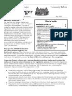 May 2012 Community Bulletin
