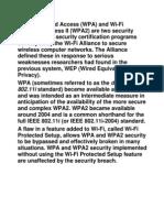 wpa and wpa 2