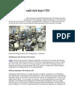 Hệ thống sản xuất tích hợp CIM