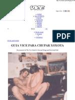 GUIA VICE PARA CHUPAR XOXOTA – Vice BR