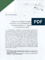Avdo Suceska - Uticaj Austro-turskih ratova na opterecivanje stanovnistva u Bosni u XVIII stoljecu