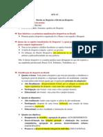 Resumo Direito Desportivo - FND