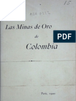 El Oro en Colombia