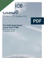 Swiss World Cargo Service Guide Summer 2012