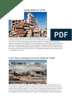 10 Natural Disasters