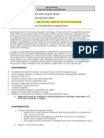2012 13 FiF Lead Mentor Job Description