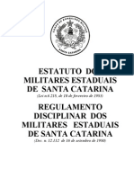 Estatuto e RDPMSC