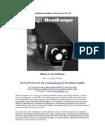 HeadBanger Headphone Amp Construction Kit