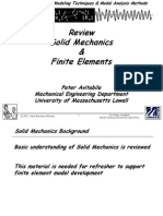 Solid Mechanics Review 061904