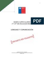 Base Curricular 2012 Lenguaje y Comunicación