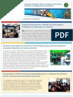 Boletin No. 6.  Programa Regional de USAID para el Manejo de Recursos Acuaticos y Alternativas Economicas.