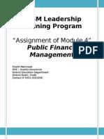PFM Module 4