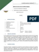SILABO - ACONDICIONAMIENTO AMBIENTAL-FAU-UNSA