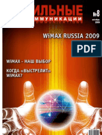WIMAX RUSSIA Magazine 2009 Mtk 08-2009