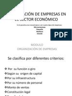 CLASIFICACIÓN DE EMPRESAS1