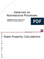 8 Nonreactive Process Balances