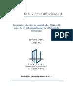 CUATRO_Notas Sobre El Gobierno Municipal