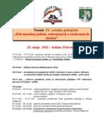 Deň mestskej polície 2012 program