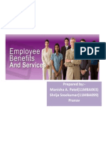 Employee Benefits and Services
