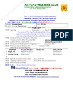 TTC 2007 Agenda 0316
