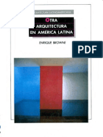 Browne-Otra Arq en Am Latina