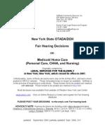 Home Care Fair Hearing Digest.2[1]