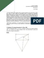 Probleme de geometrie din manualele vechi