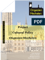 Paper Cultural Policy