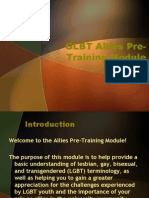 Allies Pre Training Module