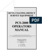 PCS 2000 - Operators Manual