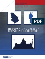 Informator o Sistemu Odbrane R Srbije