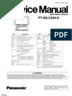 Panasonic Pt60lcx64k [ET]