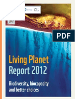 Living Planet Report 2012 Biodiversity, biocapacityand better choices