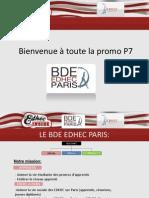 Présentation BDE EDHEC PARIS v5