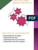 Implementacion de Software Para Mantenimiento Preventivo y Predictivo