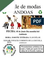 Desfile d Emodas Andoas Recicla