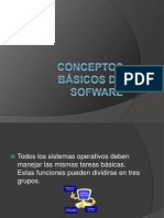 Conceptos básicos de software