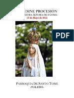 PROCESIÓN DE NUESTRA SEÑORA DE FÁTIMA (13-5-212)