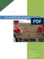 WORD. EL COSTE DE LA EDUCACIÓN