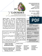 Bulletin (Current)